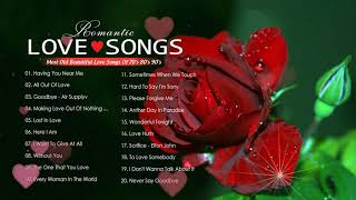 Best Romantic Love Songs Of All Time - Most Old Beautiful Love Songs Of 70s 80s 90s