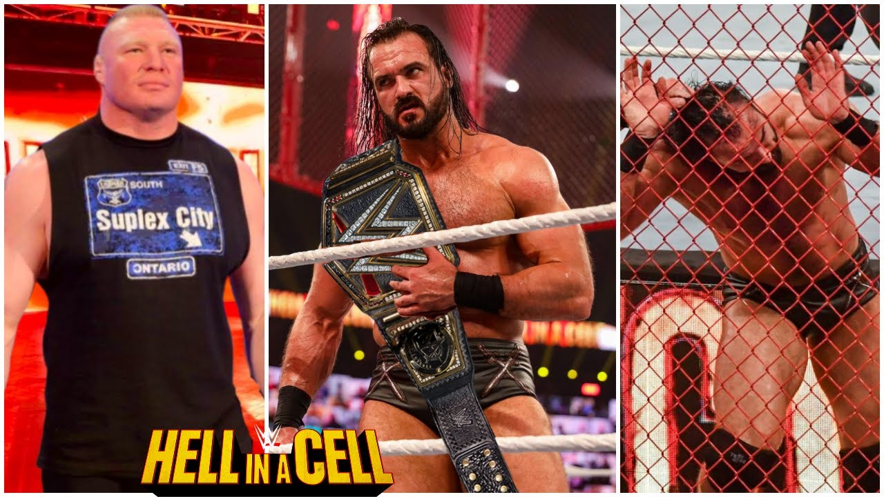 WWE Hell In A Cell 2021 - Drew WINS WWE Championship & Brock Lesnar Returns At HIAC 2021?