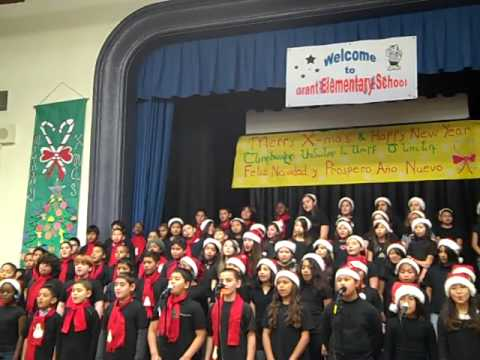 JINGLE BELLS / WINTER FANTASY Grant Elementary Chorus