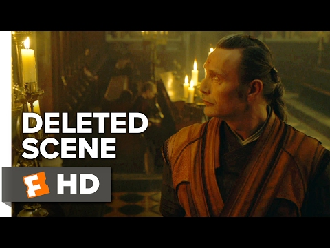Doctor Strange Deleted Scene - Kaecilius Searches For Answers (2016) - Mads Mikkelsen Movie