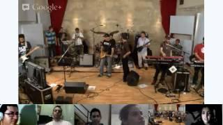 Google+ Hangout con Los Cafres