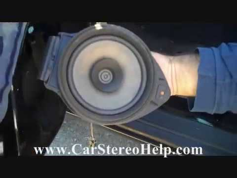 Chevrolet Cobalt Front Speaker Removal And Replacement