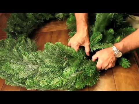 Christmas Pine Wreath Shaping With Steve Taylor Evergreen