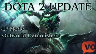 Dota 2 Update - Least Played Мод и Outworld Demolisher
