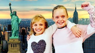 Best Friends Surprise Trip To New York City with Payton Delu and Jazzy Skye!