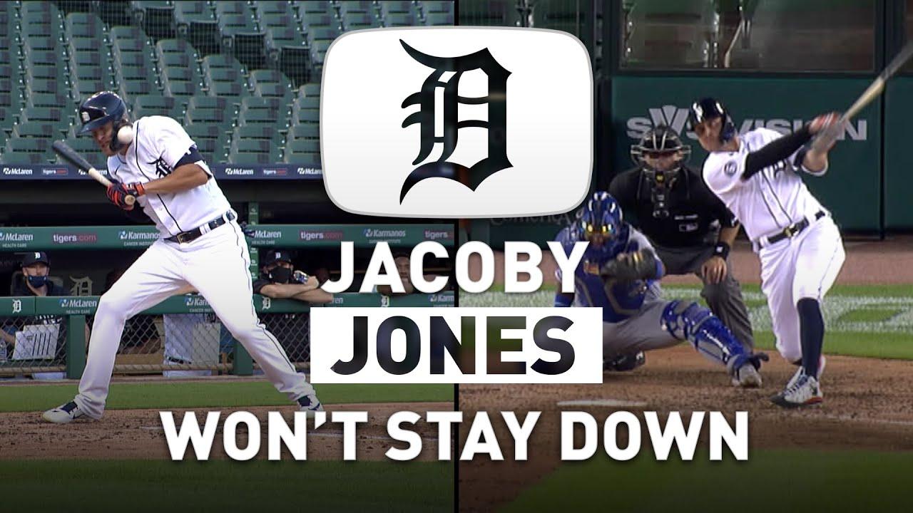 JaCoby Jones Won't Stay Down