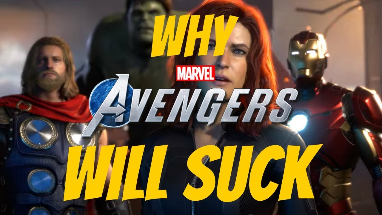 5 Reasons The Avengers Game Will Suck!!! (Apart from there being no Hawkeye)