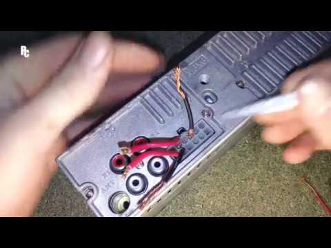 Как подключить магнитолу без пина (фишки)