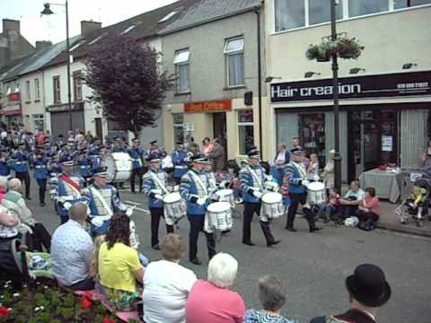 Brookeborough Flute Band, Irvinestown 2012