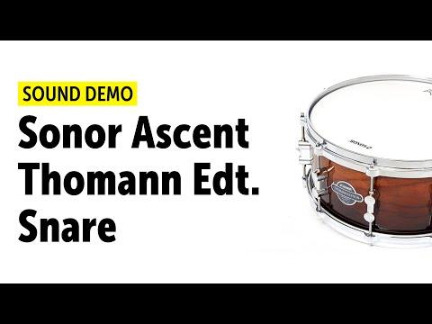 Sonor Ascent Thomann Edition Snare Sound Demo