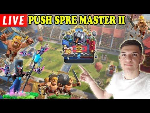 🔴[LIVE] PUSH SPRE MASTER 2 SI DESCHIDEM MULTE CHESTURI! Clash Royale Romania