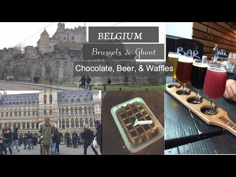 Ash Be Trippin'  II  Brussels & Ghent Belgium  II  Chocolate, Waffles, and Beer