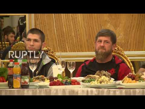 Russia: Khabib Nurmagomedov becomes Grozny's honorary citizen