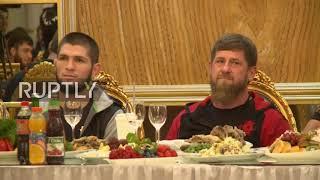 Russia: Khabib Nurmagomedov becomes Grozny's honorary citizen