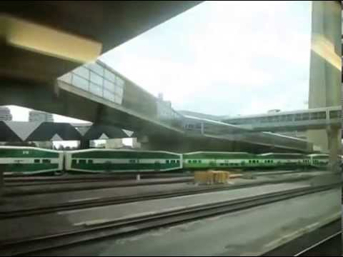 Riding Go Transit from Union-Exhibition Go Station