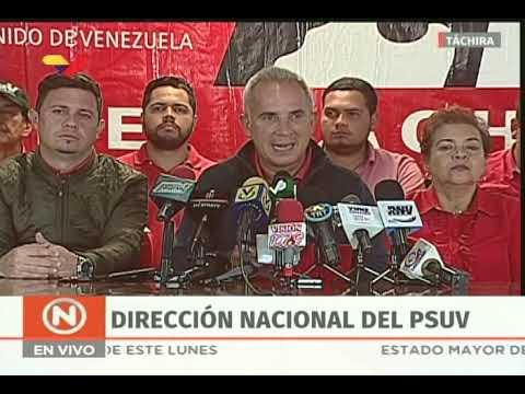 Freddy Bernal, rueda de prensa del PSUV completa desde Táchira, 11 febrero 2019