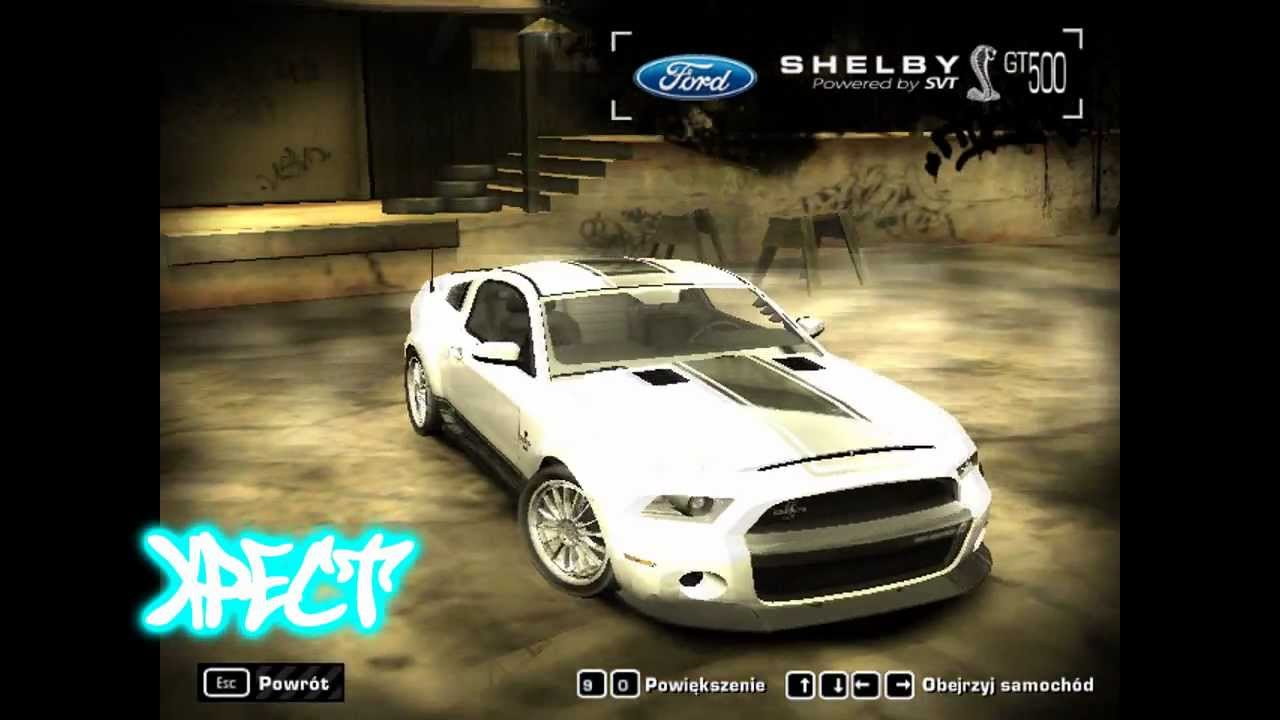Nfs most wanted ford shelby gt500 super snake the run edition 2012