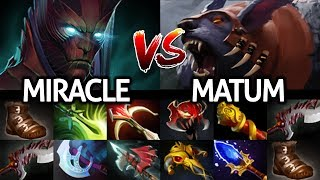 MIRACLE Terrorblade Signature Hero VS MATUMBAMAN Ursa No Mercy 7.25 Dota 2
