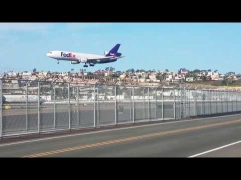 KSAN - San Diego Airport - Plane Spotting
