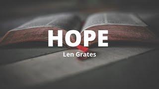 HOPE Len Grates
