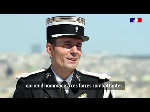 #14Juillet Le lieutenant-colonel Nicolas de la Gendarmerie va défiler à la tête d'un bloc unique