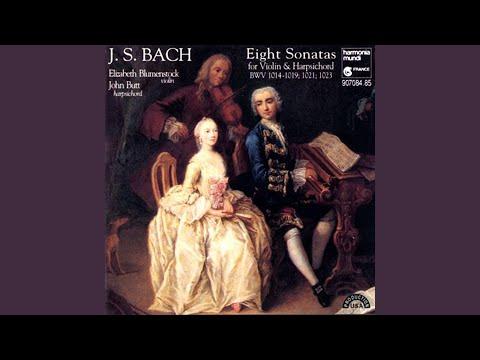 Sonata in E Minor for Violin and Continuo, BWV 1023: III. Allemanda