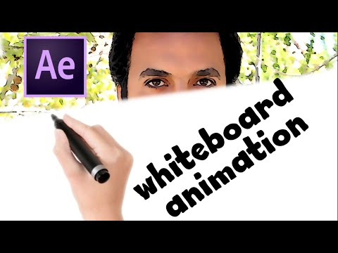 Whiteboard Animation Tutorial   Adobe After Effects