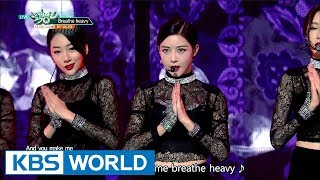 Video BP RANIA  (BP라니아) - Breathe heavy [Music Bank / 2017.10.13] download MP3, 3GP, MP4, WEBM, AVI, FLV Maret 2018