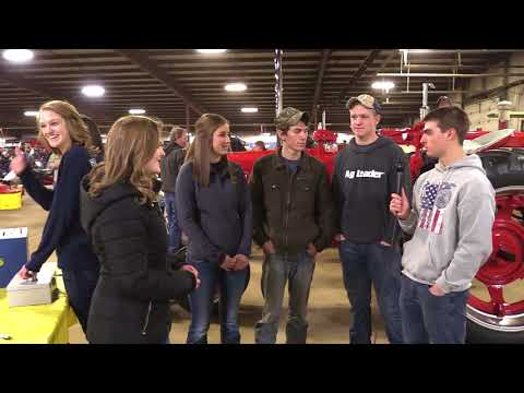 Prairie Central FFA at the Midwest Ag Expo