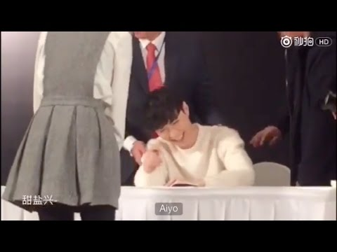 [Eng Sub] 161117 Beijing Lose Control Fansign: mirror girl cut