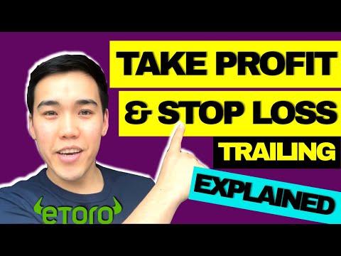 Как работает тейк-профит и стоп-лосс (трейлинг-стоп) | EToro