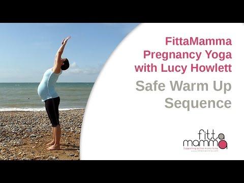 FittaMamma Safe Pregnancy Yoga Warm Up Sequence