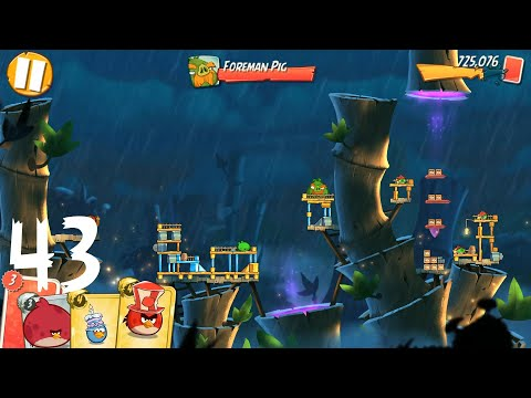 Angry Birds 2: level 43, 3Star