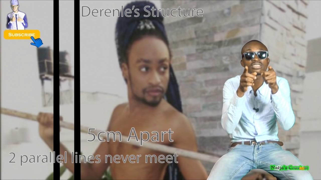 Download Denrele Edun Falls Off Stage  After Tripping on Long  Braid