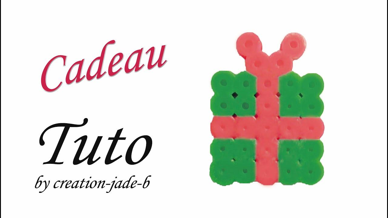 Tuto Perles à repasser (Hama) - Cadeau de Noël ! - YouTube