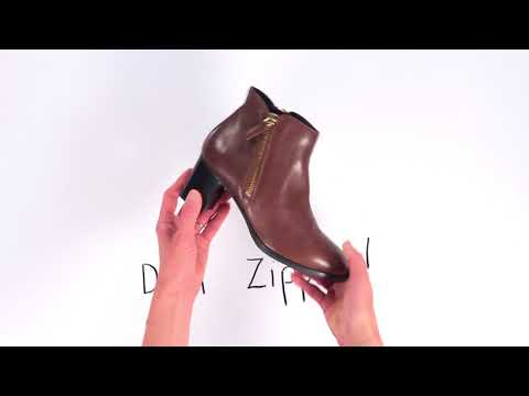 Video for Delia Ankle Boot this will open in a new window