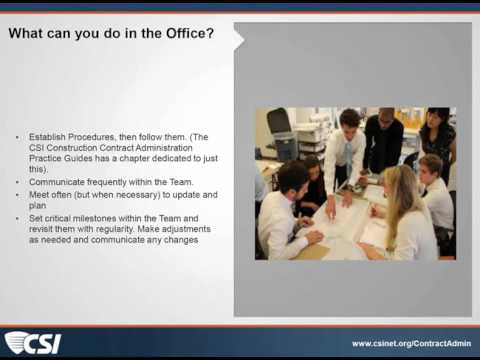 Top 10 Principles of Contract Administration: #7