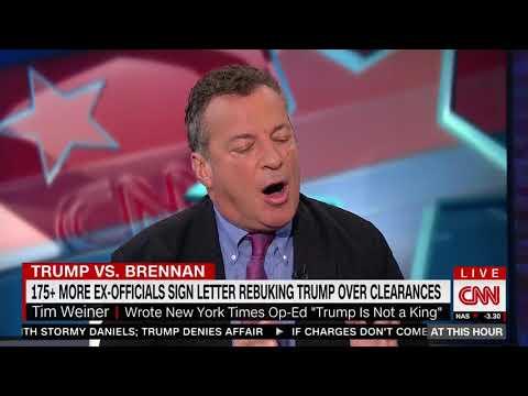 Tim Weiner blast Trump administration's Brenna decision