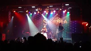 Sirenia - Sister Nightfall (Live at Sao Paulo)
