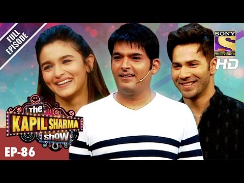 The Kapil Sharma Show -    -Ep-86-Varun And Alia In Kapil's Show4th Mar 2017