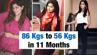 Weight Loss Journey: 30 Kgs In 11 Months | Fat to Fit | Fit Tak