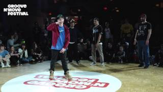 GROOVE'N'MOVE BATTLE 2017 - Popping Preselection