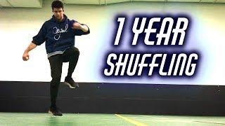 1 Year Shuffle Dance Transformation