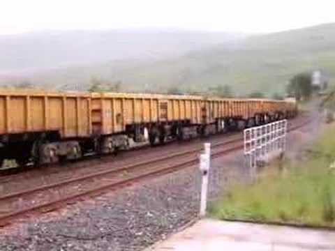 Freightliner Class 66523  at Blea Moor on The Settle Carlisle