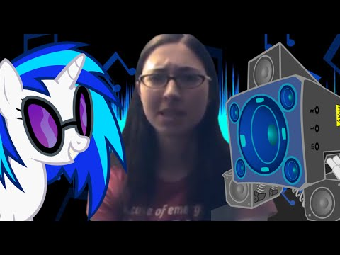 Nowacking Vinyl Scratch Saying Bass Cannon Around 700 Times