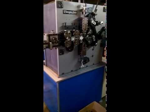 1mm - 4mm Spring Coiling Machine