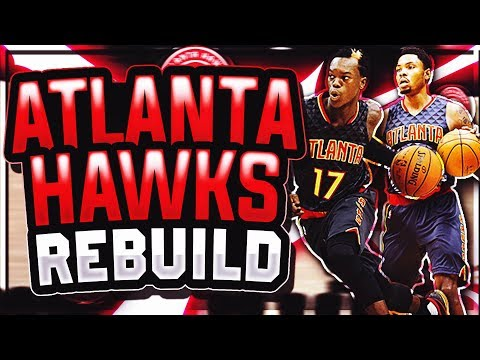 CRAZY SUPERTEAM IN ATLANTA! NBA 2K18 ATLANTA HAWKS REBUILD!