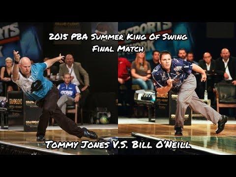 2015 PBA Summer King of Swing Final Match - Tommy Jones V.S. Bill O