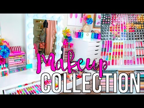 UPDATED 2016 MAKEUP COLLECTION!!!