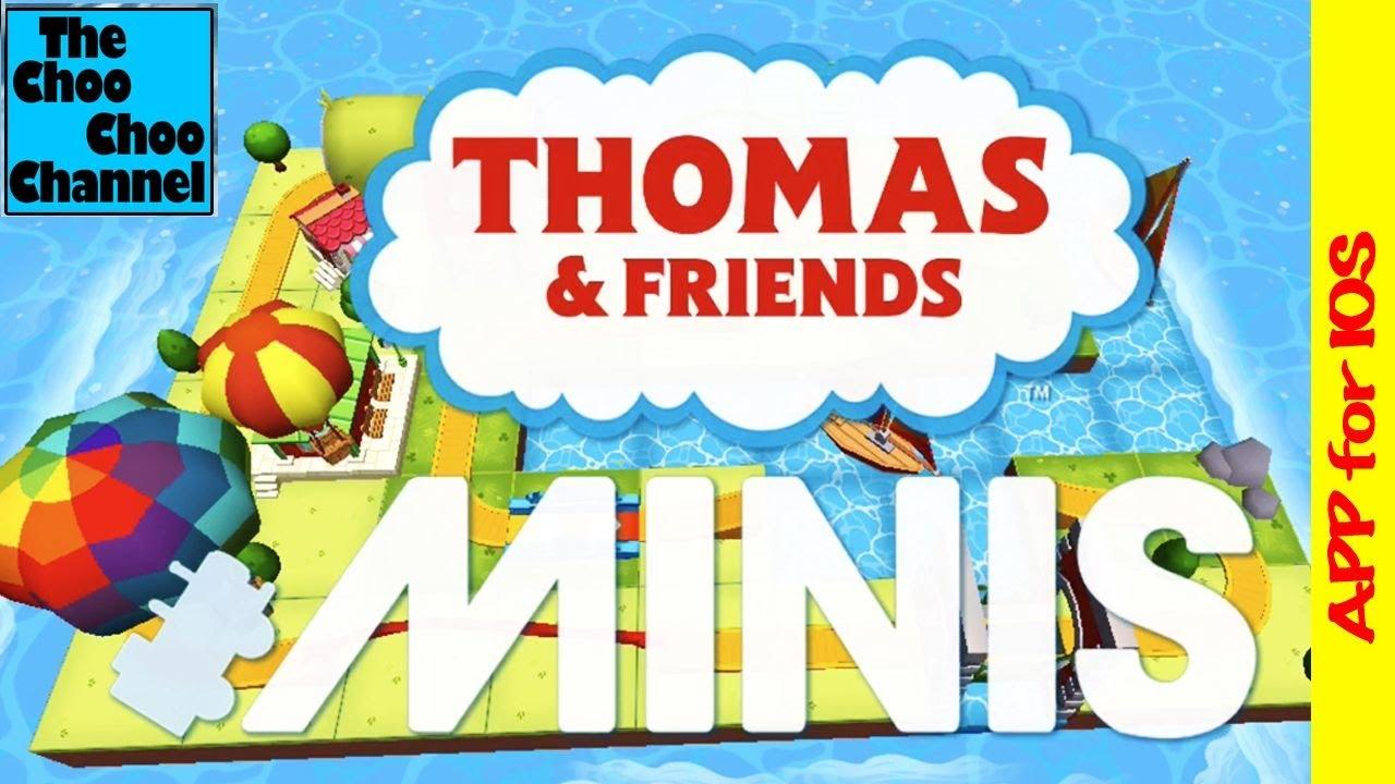 Thomas & Friends Minis APP | Budge Studios | Super Fun Train Video GamePlay